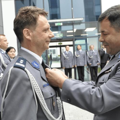 Święto Policji w KPP w Krakowie