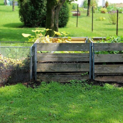 Kompostownik ogrodowy: jak założyć kompostownik w ogrodzie?