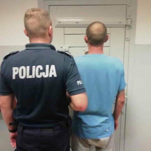 Włamał się do domu – został zatrzymany