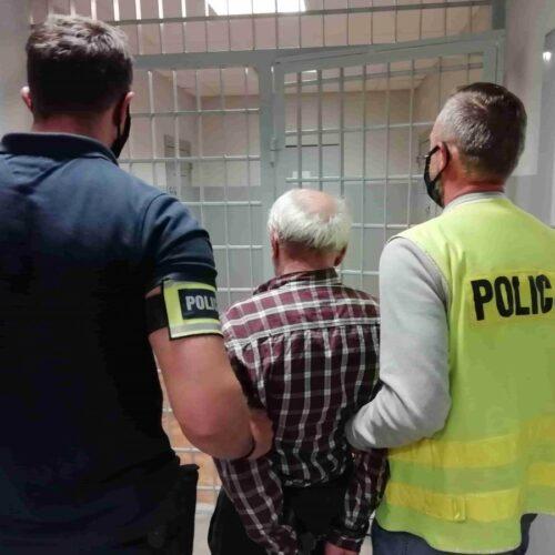 Zatrzymany i aresztowany za ponowne pobicie żony