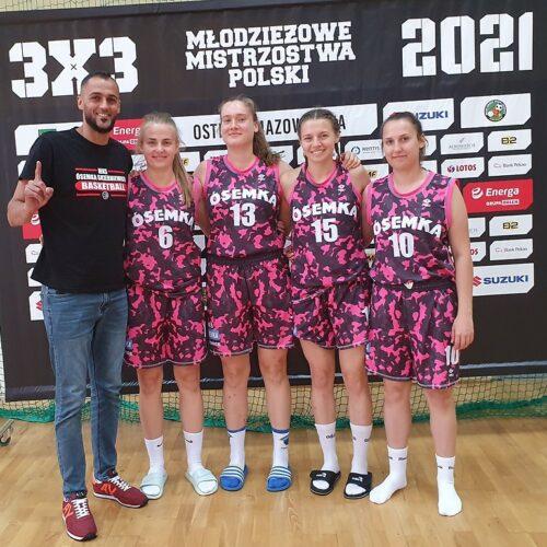 Ósemka walczyła w Finałach Młodzieżowych Mistrzostw Polski w koszykówce