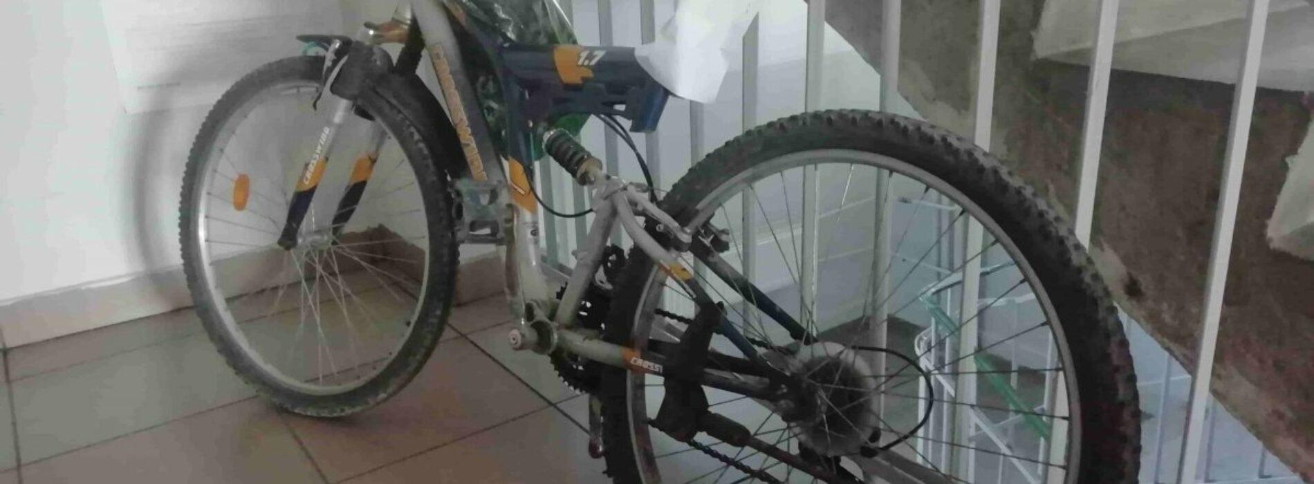 Uparty nietrzeźwy rowerzysta